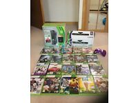 Xbox 360 plus 20 games