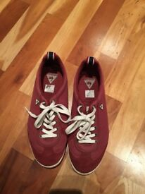 Le Coq Sportif red summer trainers UK 8 (EU 42) - Hardly used