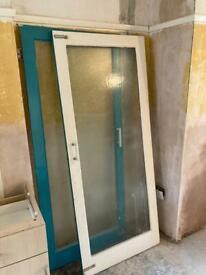 Old Internal glazed door