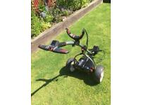 Used Motocaddy S1 Pro with 18 hole lithium battery and charger.