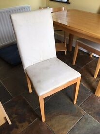 2 x Habitat Altea Dining Chairs for upcycling