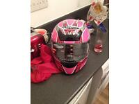 Nitro racing bike helmet