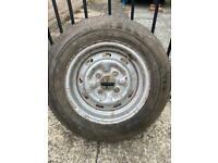 Ford Escort Mk2 steel wheel