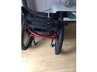 Wheelchair Red Beroiika manual