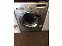 LG DIRECT DRIVE SUPER SILENT 8kg WASHING MACHINE DISPLAY MODEL FREE DELIVERY AND WARRANTY