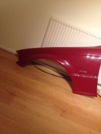 BMW E46 COUPE Genuine front wing passenger side