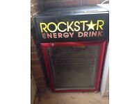 Rockstar beer / pop / mini fridge
