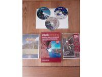 Rock climbing DVD's and book