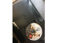PS3 slim and controller and GTA 5