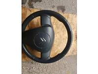 Citroen c2 steering wheel and airbag