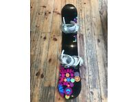 Burton Feather Women's Snowboard and Bindings. 153. Very good condition.