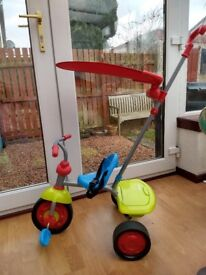 Colourful Early learning Centre Trike. Barely used, in excellent condition