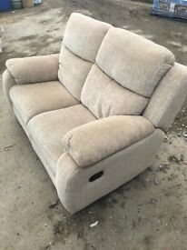 Suite, 3 piece, nearly new, electric recliner