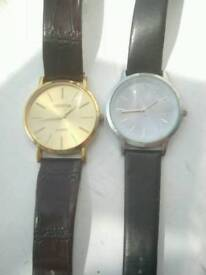 Two gents watches