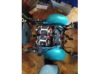 Wheelchair base From an Rascal P327 Mini Electric Mobility Wheelchair.