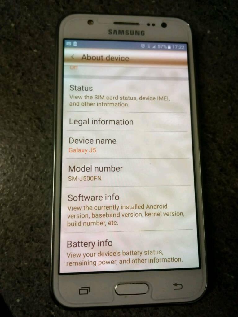 Samsung J5 8gb | in Grays, Essex | Gumtree