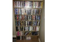 DVD collection, over 300 + rack. £120