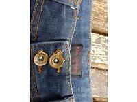 Miss Selfridge Mini Jean Skirt Sz 10