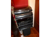 SONY hifi system with vinyl/record turntable, radio, cassette & CD player MHC-501. Barely used!!