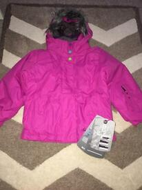 BNWT Surfanic Ski/Snowboard Girls Set. Age 3-4 years.