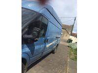 Selling a ford transit high top long wheel base van