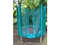 GONE PENDING COLLECTION 6ft trampoline with enclosure