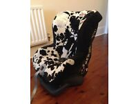 Britax First Class Plus Group 0&1 in cowmooflage