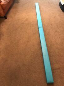 8ft gymnastics floor beam (blue)
