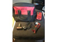 Snap on 14.4v lithium accessories kit torch , 2.0ah battery, bag , charger