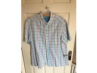 Men's Short Sleeve Check Shirt