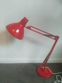 Vintage angle poised lamp