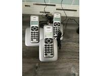 Home phone set of three