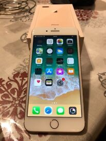 Bran new seal IPhone 8 Plus Gold unlocked with receipt