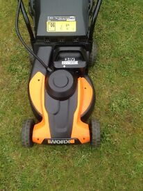 LAWNMOWER 24 VOLT RECHARGEABLE LAWN MOWER