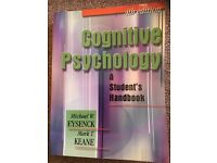 Cognitive psychology a students handbook ( 4th edition)