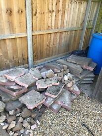 Paving slabs / concrete free to collect