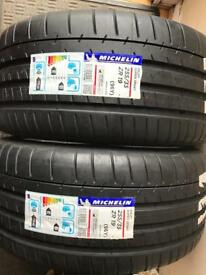 2X 255/35/19 Michelin Pilot Sport BMW approved* Brand New