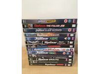 New & like new Top Gear and Clarkson DVD Collection
