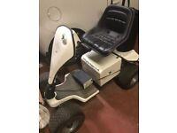Grasshopper single seat electric golf buggy