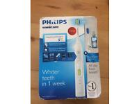 Philips sonicare electric toothbrush set