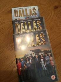 DVD new season Dallas, series 1-3
