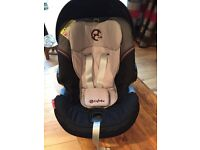 Cybex Aton Car Baby Car Seat & Isofix Base Excellent Condition