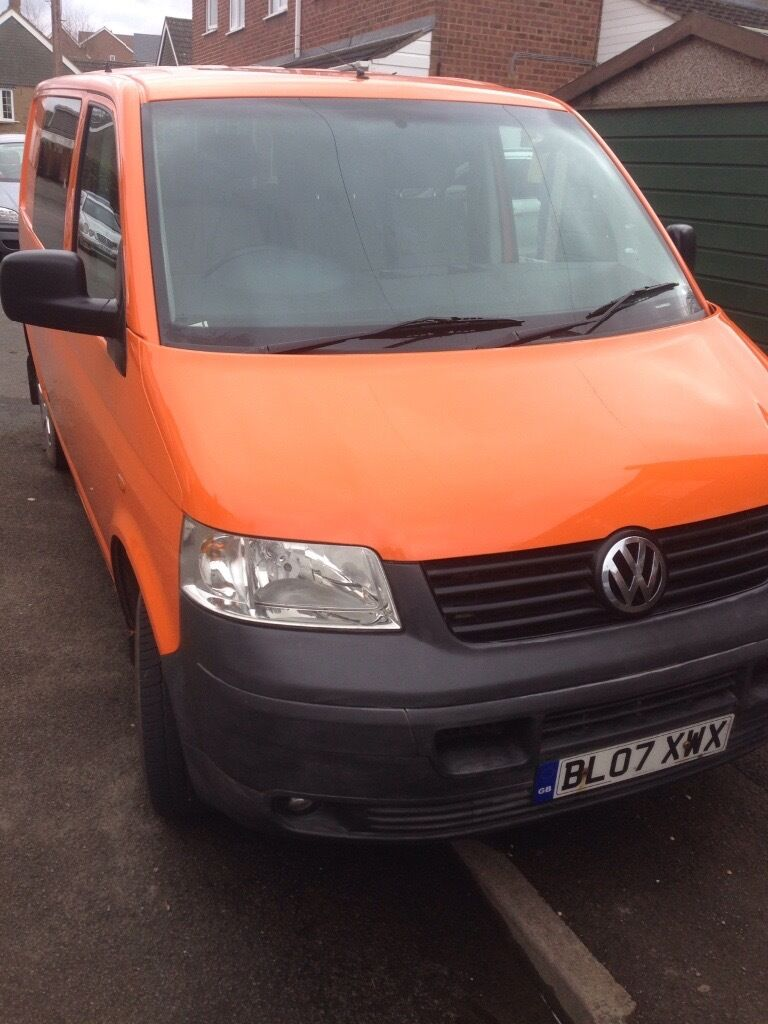 vw transporter t5 combi orange ex rac in market. Black Bedroom Furniture Sets. Home Design Ideas