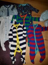 Baby boys sleepsuits