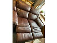 Stunning mint condition 2 seater recliner sofa