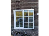 Good condition double glazed upvc front door and window