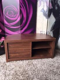 Tv Unit Cabinet Finished in Mahogany Wood Effect