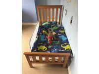 Mothercare Jamestown cot/bed & dresser