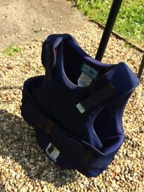 Child's body protector, good condition size small short.