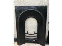 Cast iron fire surround fireplace